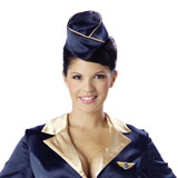 Stewardess-klein