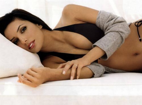 Eva Longoria zonder slipje