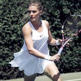 Bouchard Wimbledon Nike