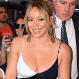 Hilary Duff cleavage