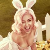 Miley Cyrus bunny