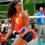 Oranje volleybalvrouwen WK