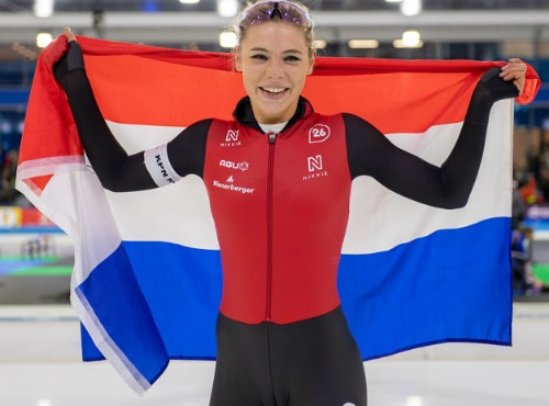 Jutta Leerdam NK sprint