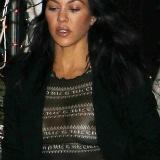 Kourtney Kardashian tepel