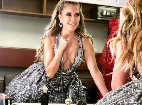Sylvie Meis ontslagen sexy jurk