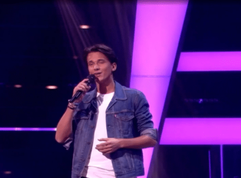 Danilo in The Voice of Holland