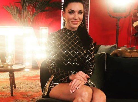 Jill Helena bij RTL-programma All Together Now © Instagram