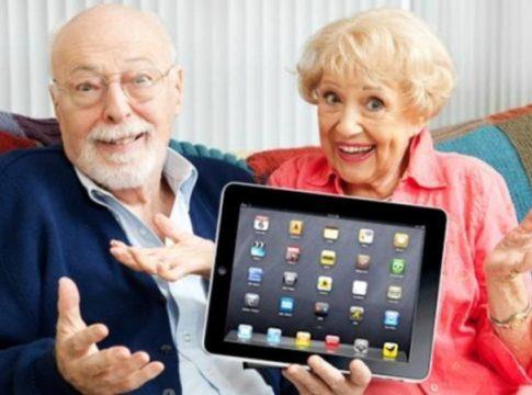 ipad ouderen internet