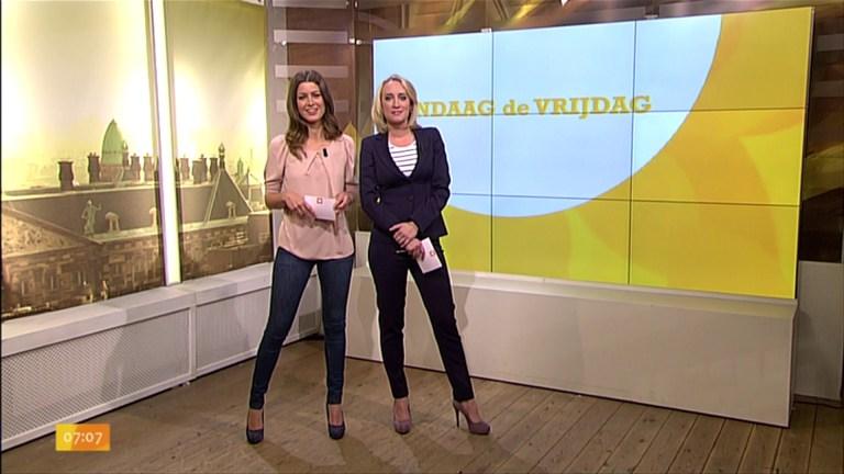 Merel Westrik en Eva Jinek bij WNL