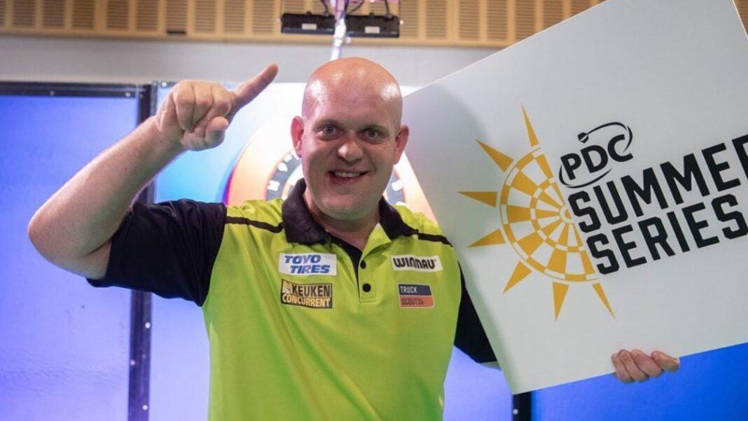 Michael van Gerwen Darts Summer Series