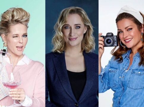 Televizier Miljuschka Chantal Eva Jinek