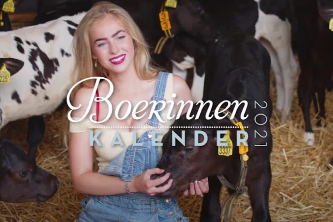 Boerinnenkalender 2021 boerin annemiek milou BZV