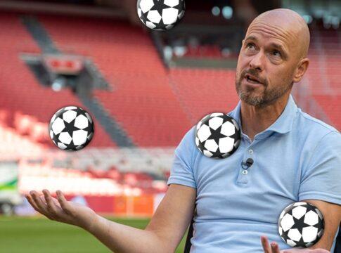 Champions League Ajax Loting Erik Ten Hag