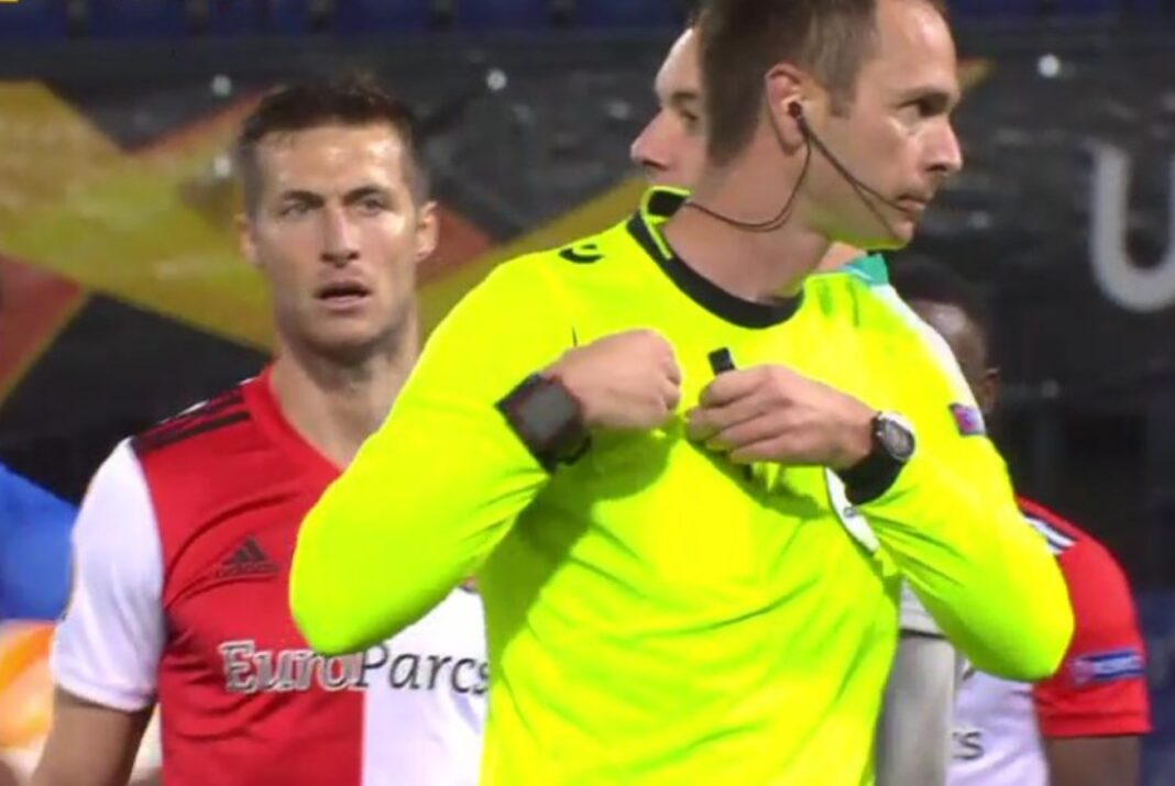 Feyenoord Wolfsberger penalty scheidsrechter europa league 4-1