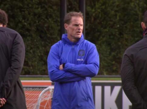 Frank de Boer Oranje Bondscoach Nederlands Elftal Mexico Bosnie