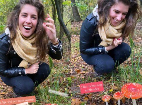Marieke Elsinga paddestoel herfst
