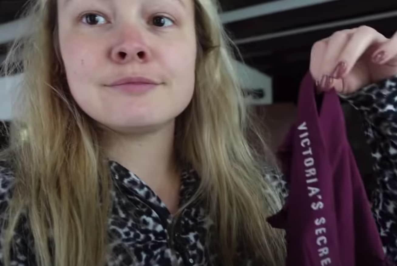 Milou Boer Zoekt Vrouw BZV onderbroek