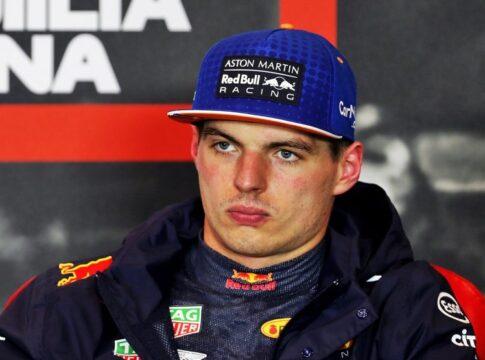 Max Verstappen Imola Italie race