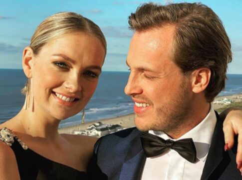 Maxime Meiland en cameraman Leroy trouwen