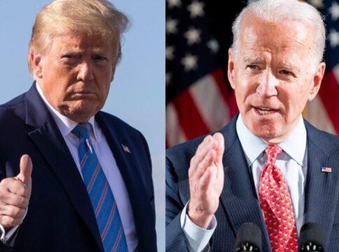 Trump vs Biden - Election day- verkiezingen amerika