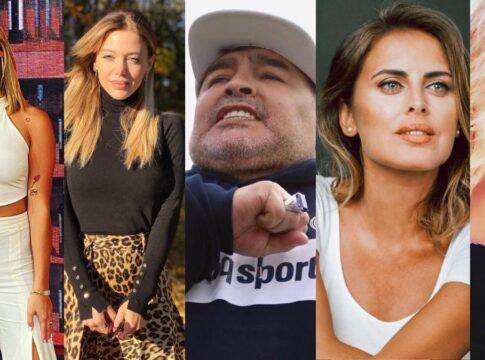 Diego Maradona vrouwen vriendinnen relaties