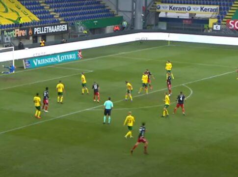 Goal doelpunt eredivisie mooiste goal feyenoord senesi fortuna sittard