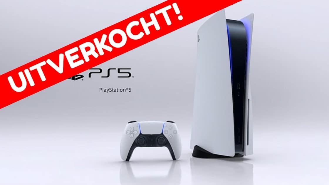 Playstation 5 uitverkocht sony next gen console