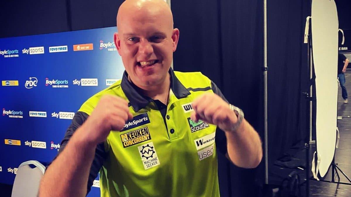 Michael van Gerwen WK Darts Deelnemers nederlanders 2021