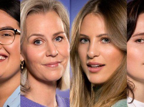Big Brother 2021 vrouwen kandidaten deelnemers liese nathali danielle naomi
