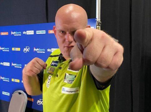 Michael van Gerwen wereldrecord WK darts darten