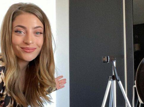 Amy van O'G3NE deelt sportfilmpje vanuit huis