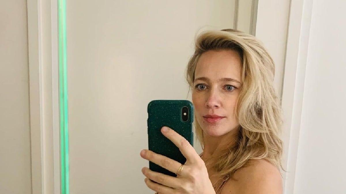 Jennifer Hoffman zwanger heuvel foto spiegel instagram