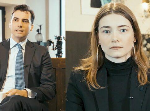 Emma Wortelboer Thierry Baudet interview de vooravond