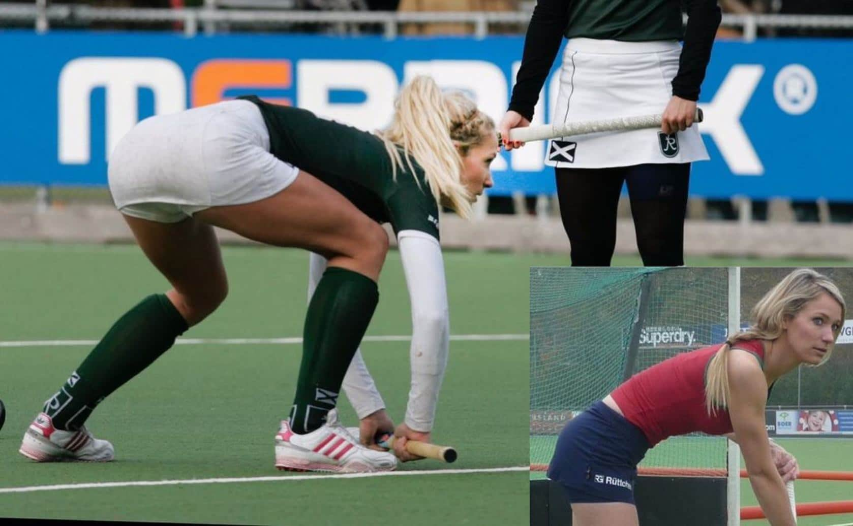 Helene Hendriks hockey foto