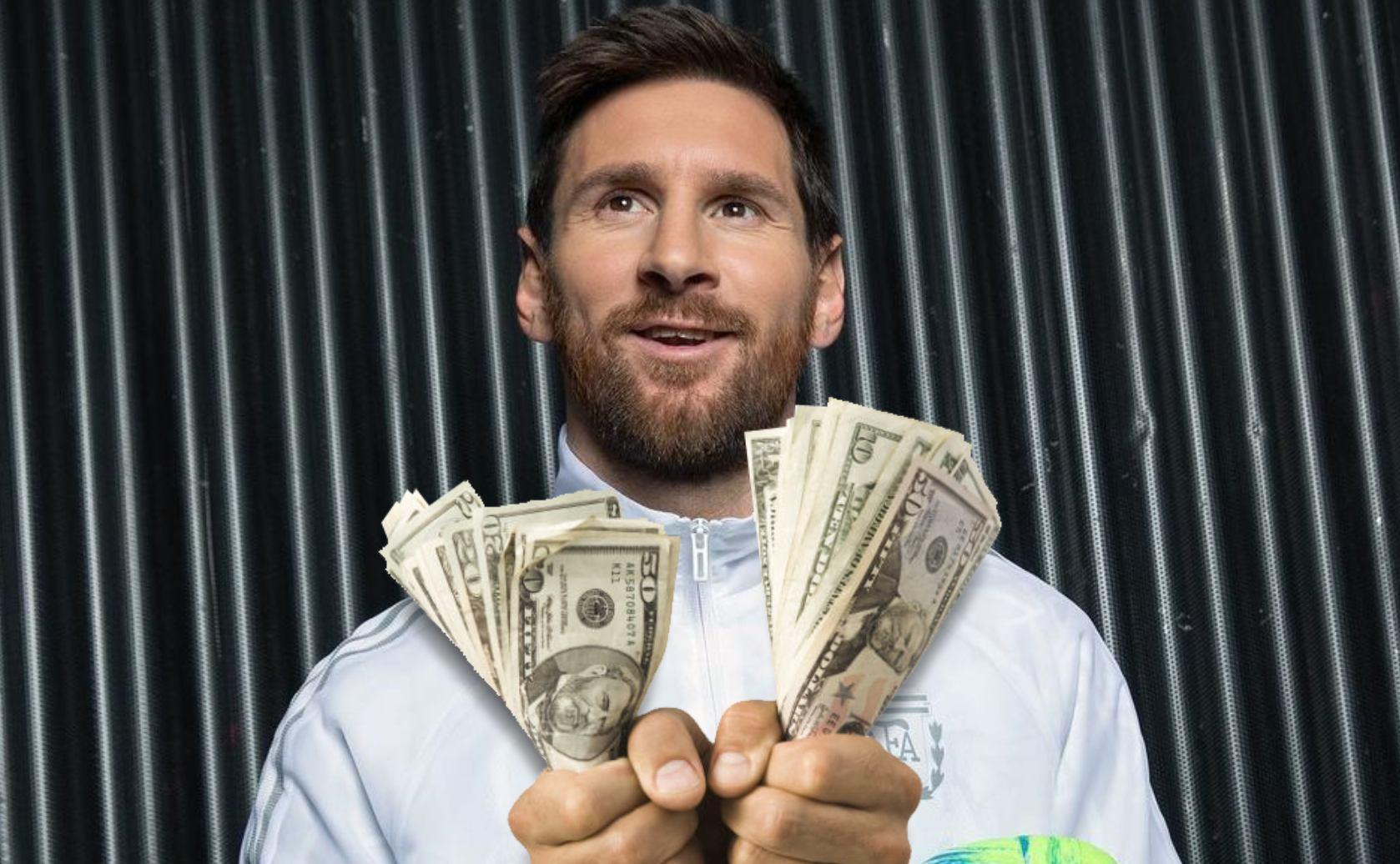 Lionel Messi salaris bestbetaalde sporter Barcelona