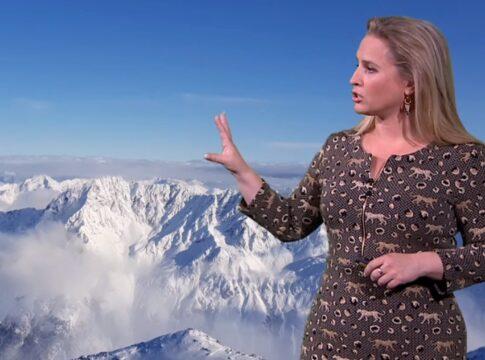 Nicolien Kroon weervrouw RTL koud sneeuw ijs