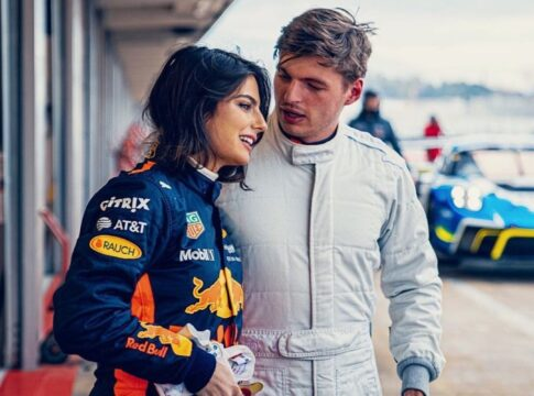 Kelly Piquet Max Verstappen Red Bull