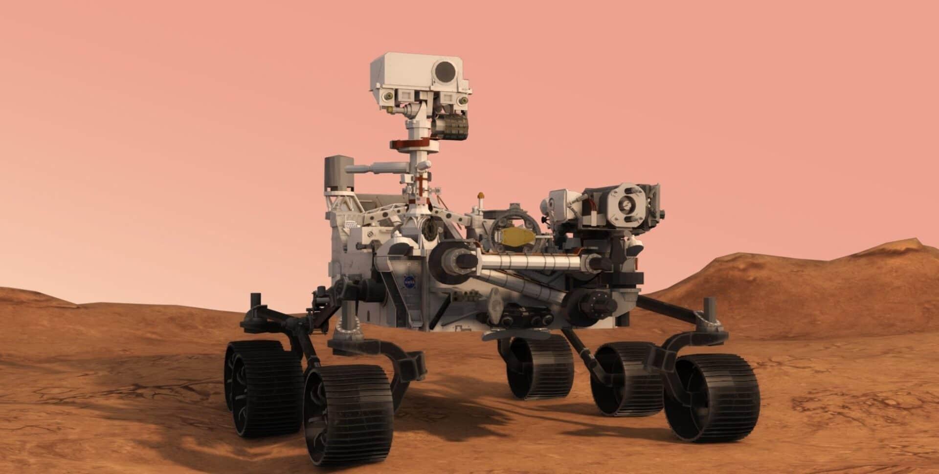 mars rover perserverance
