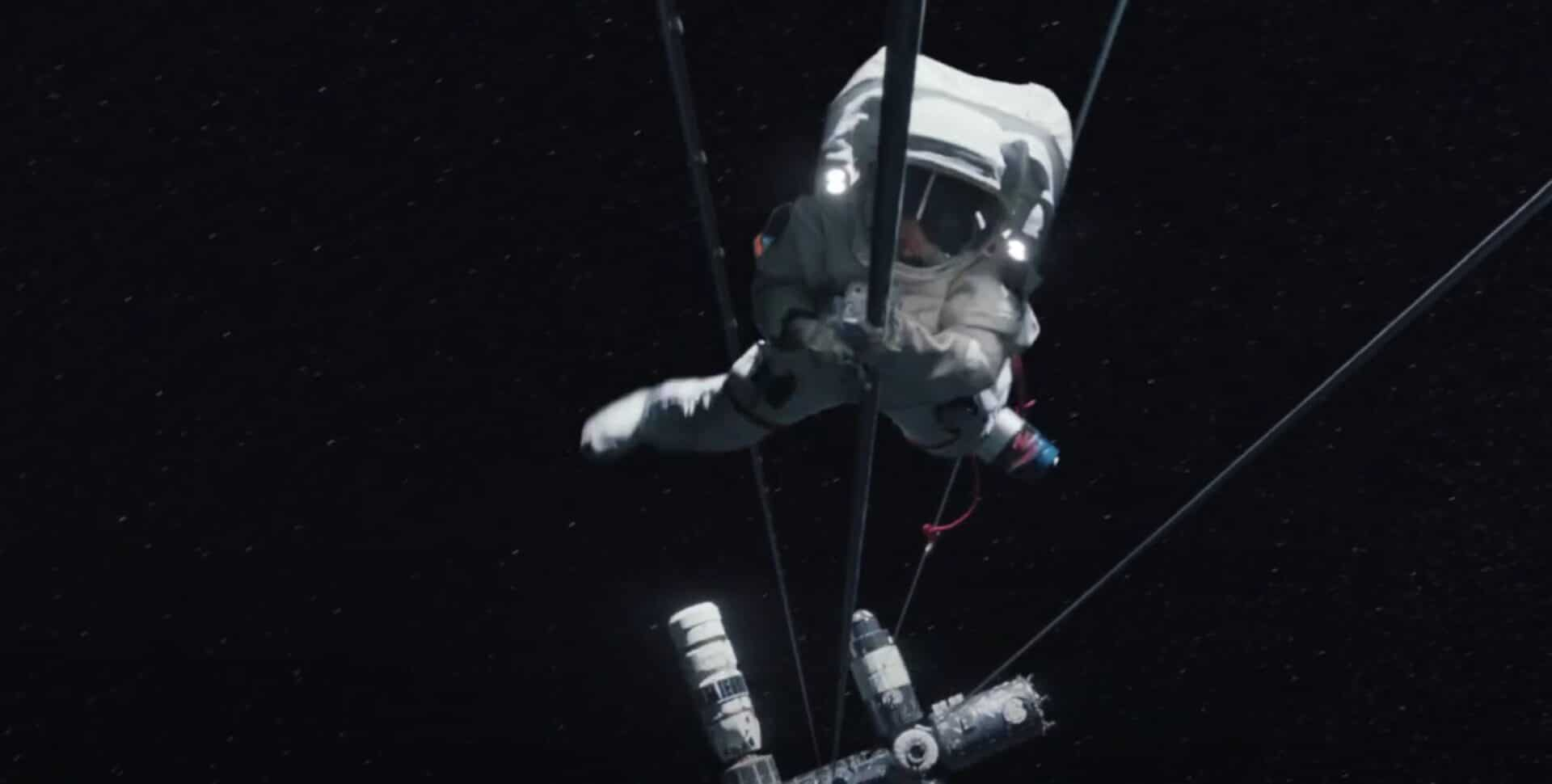 Stowaway Netflix original film thriller space ruimte