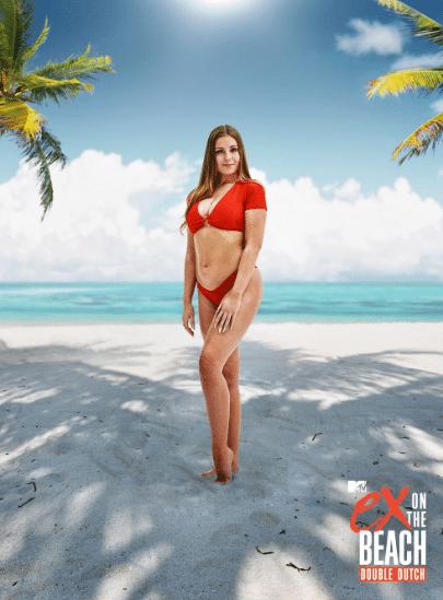 Ex On The Beach Double Dutch Lesley