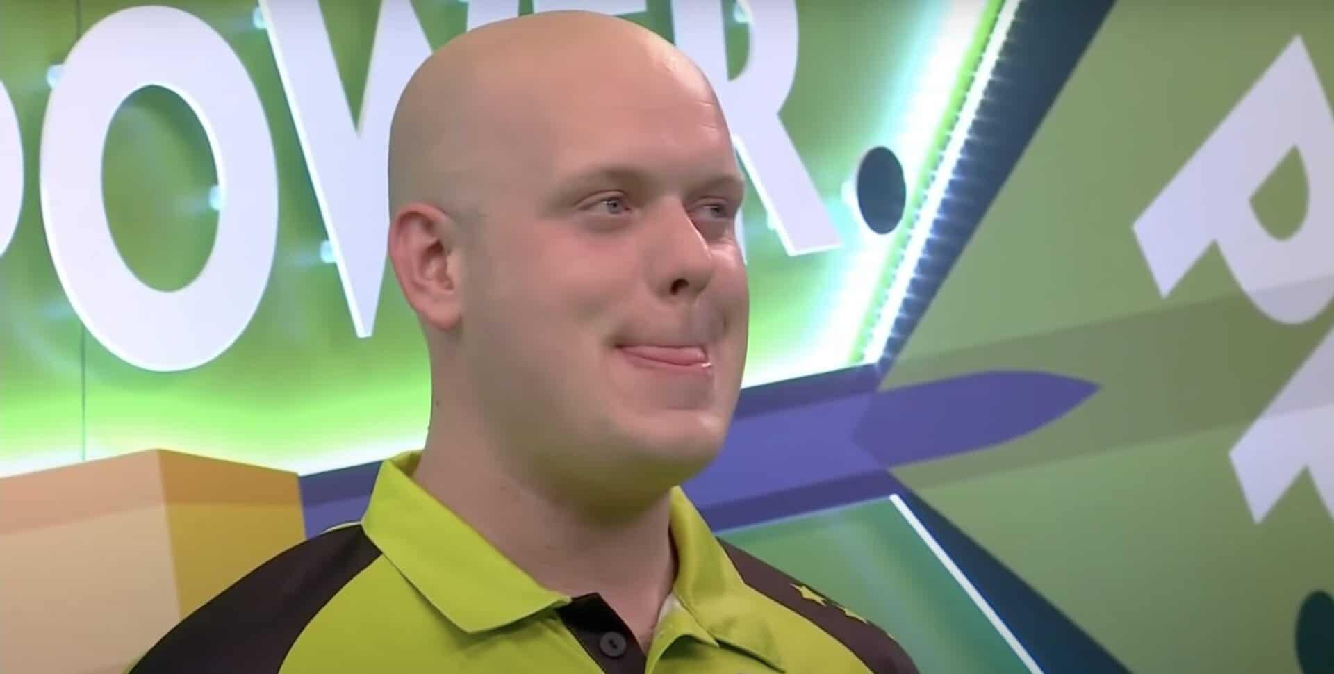 Micheal van Gerwen Peter Wright Premier League Darts