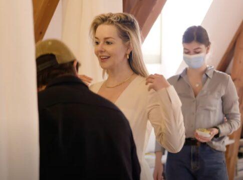 Chantal Janzen Jurk Songfestival Rotterdam