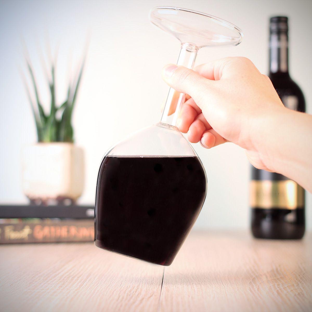 Verkeerde wijnglas