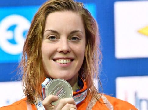 femke heemskerk medaille instagram zwemmen
